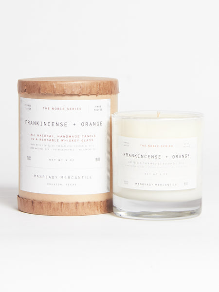 Frankincense & Orange Candle by Manready Mercantile