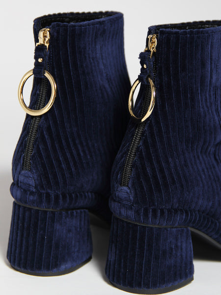 Ring Slim Boot - Navy by Reike Nen