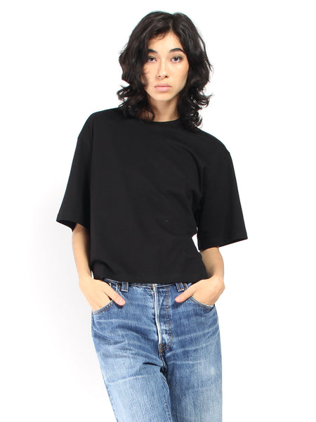 Boxy Tee - Black by Kowtow