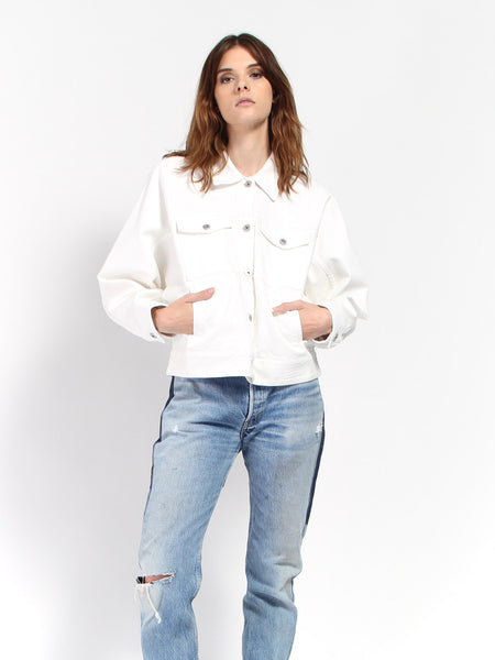 Formation Jacket - Ecru by Kowtow