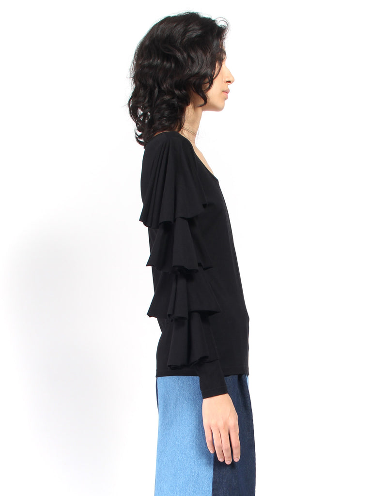 Blues Blouse - Black by RH