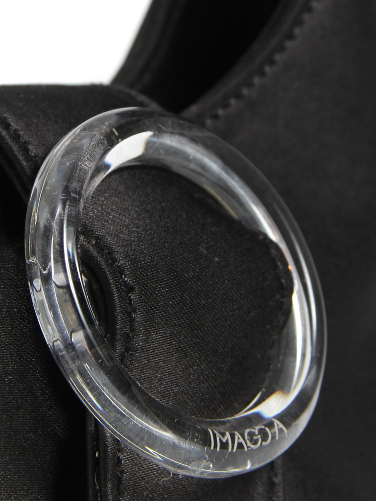 Lucite  Buckle Mini - Black by Imago-A