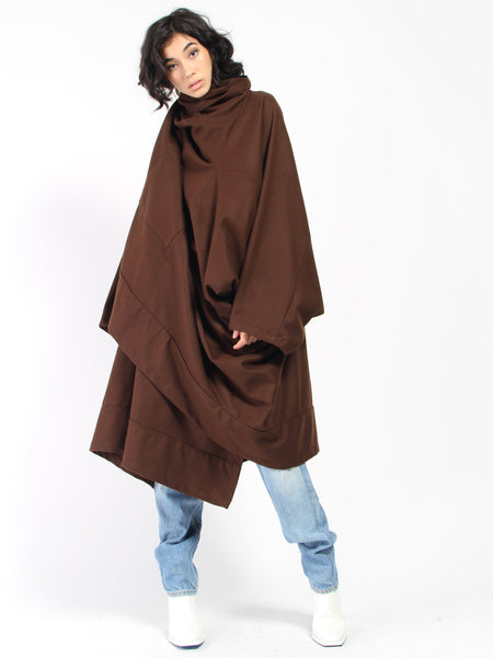 Voguar Coat Brown by Monitaly