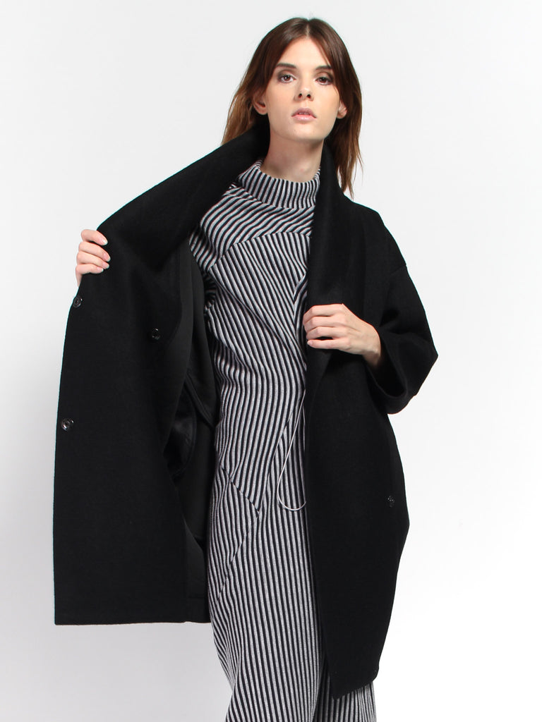 Xiong Coat - Black by Reality Studio