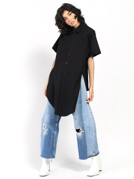 Long Front Shirt by 69
