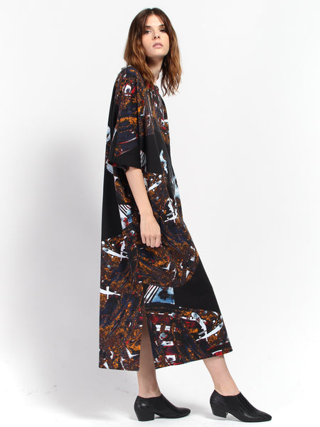 Mumba Dress - Laulu Print by RH