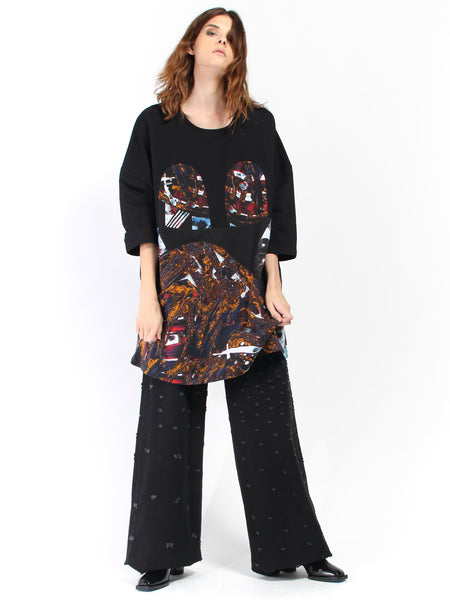 Mickey Square Dress - Laulu Print by RH