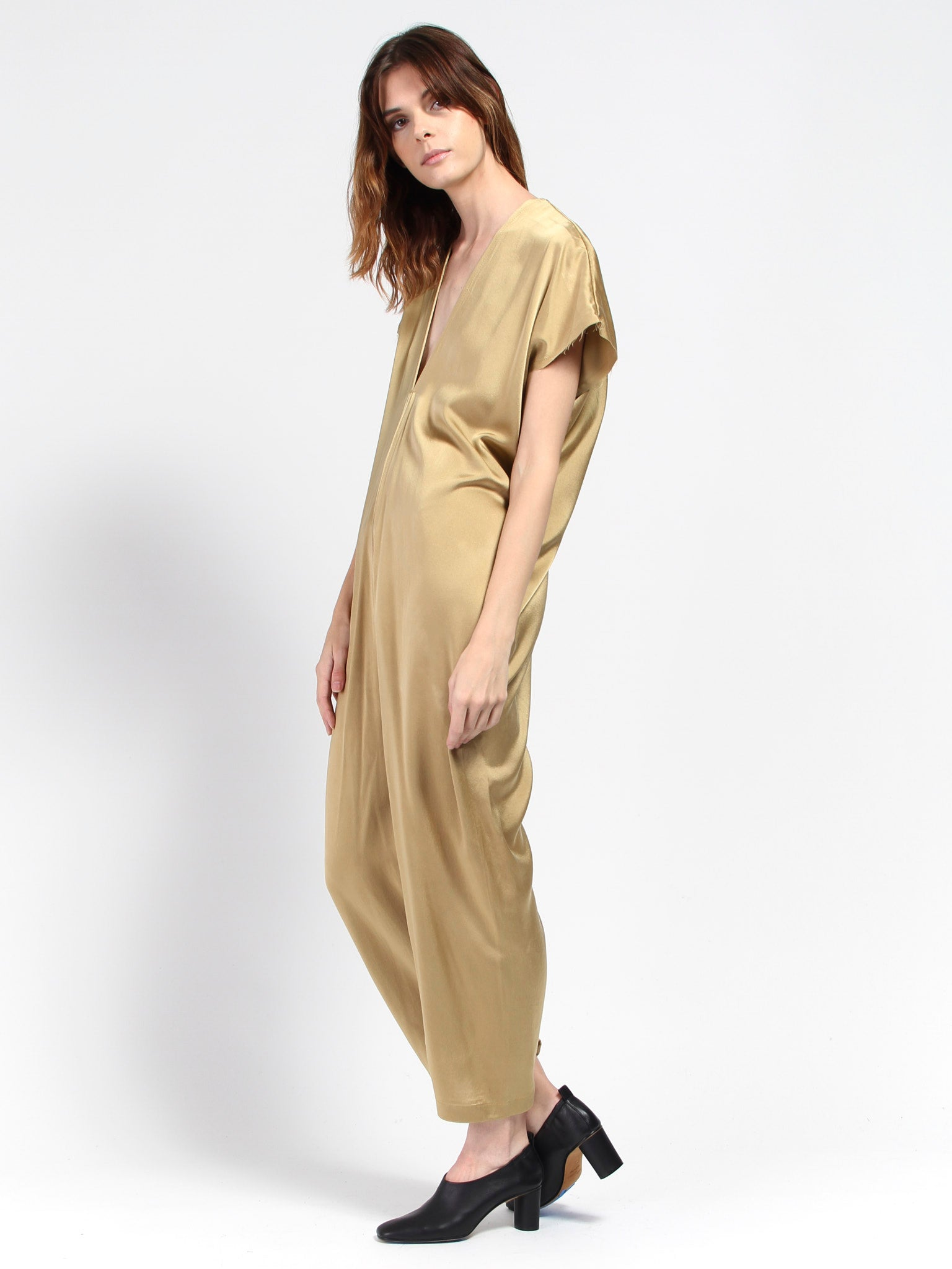 56775b6ee826f0 MIranda Bennett Everyday Jumpsuit - Nile Gold - SWORDS-SMITH