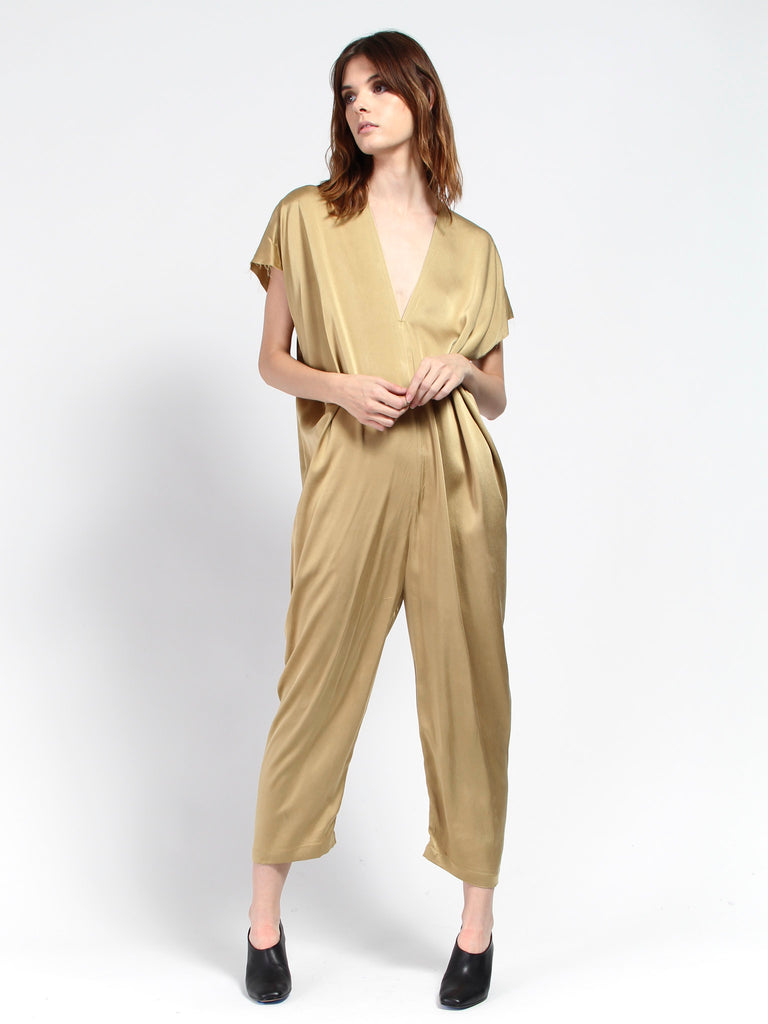 Everyday Jumpsuit - Nile Gold by Miranda Bennett