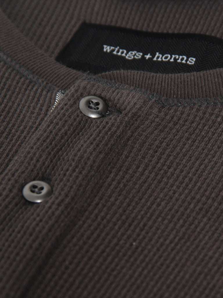 Long Sleeve Thermal - Stone by Wings and Horns