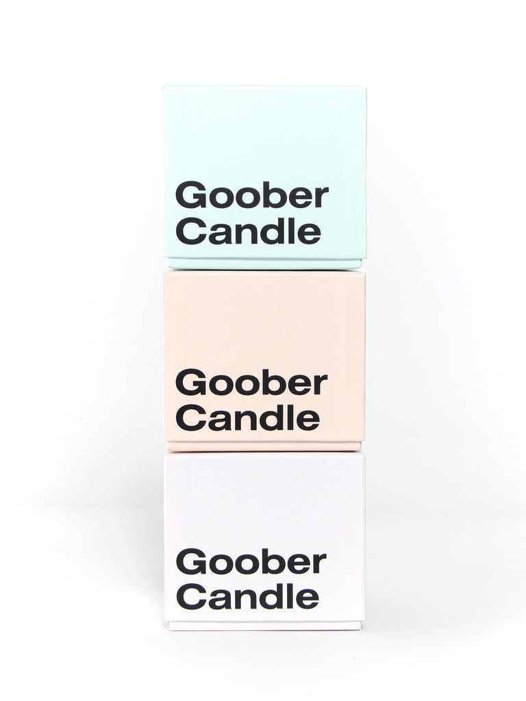 Goober Candle Green by Talbot and Yoon
