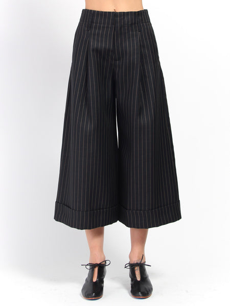 Far Trouser - Beige Stripe by Hope