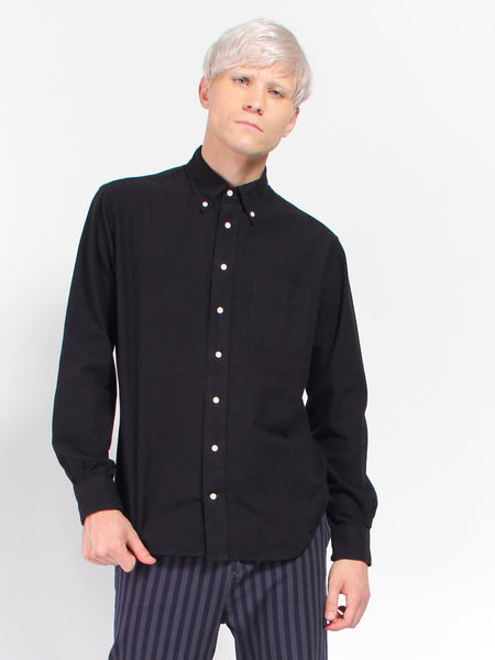 Classic Flannel - Black by Gitman Vintage