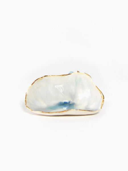 Opal Clam Shell by Minh Singer