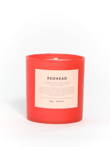 Limited Edition Redhead by Boy Smells
