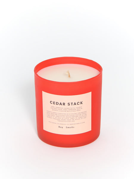 Limited Edition Cedar Stack by Boy Smells