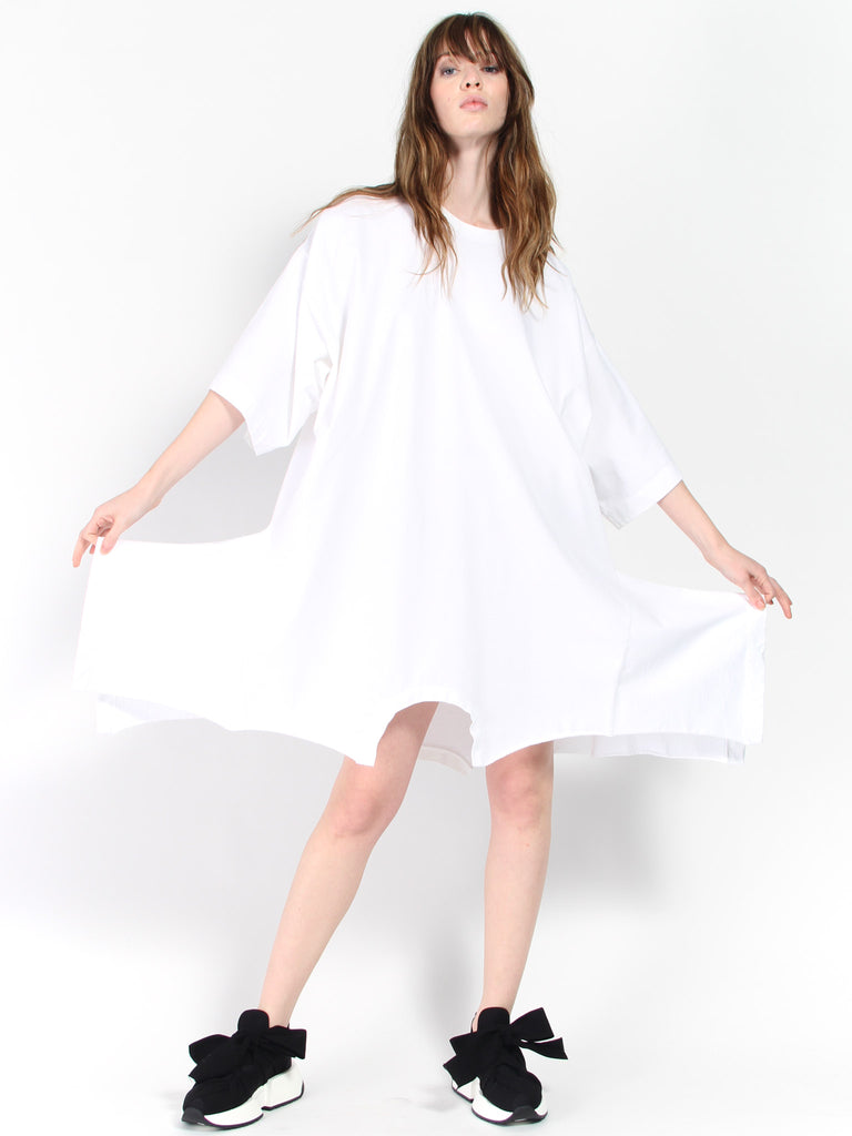 Upside Down Sweatshirt Dress by MM6 Maison Margiela