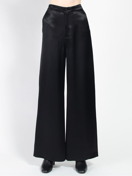 Sini Satin Pants by Rodebjer