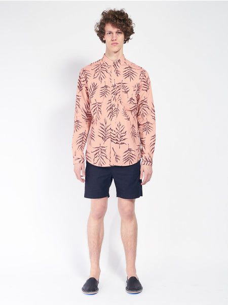 Leisure Garden Print Shirt by Schnaydermans