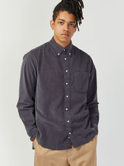 Corduroy Shirt - Grey