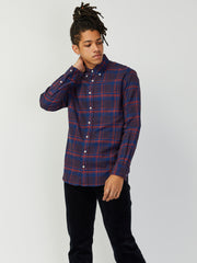 Red Indigo Flannel