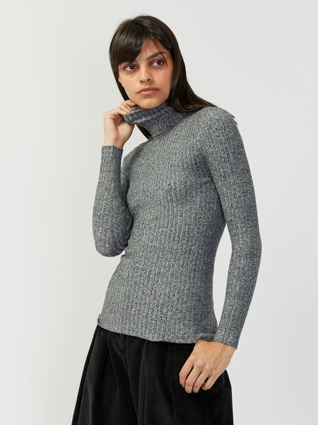 Nonna Turtleneck - White Noise by Giu Giu