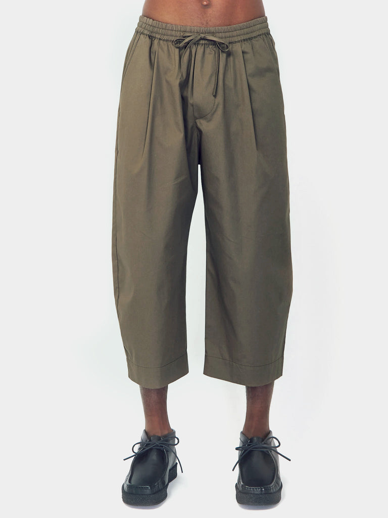 Ovate Baggy Pant - Dark Sage by Grei