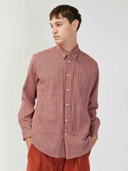 Flannel Stripe Shirt by Grei