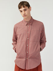 Flannel Stripe Shirt