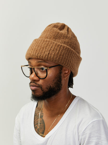 Mousse Double Sided Beanie - Caramel by Grei