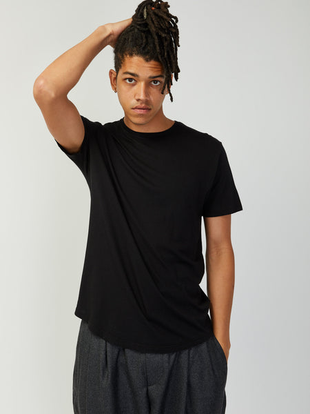 Pigment Dyed Tee - Black by Grei
