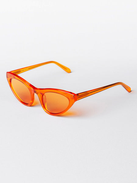 Race Trans Orange Sunglasses by Han Kjøbenhavn