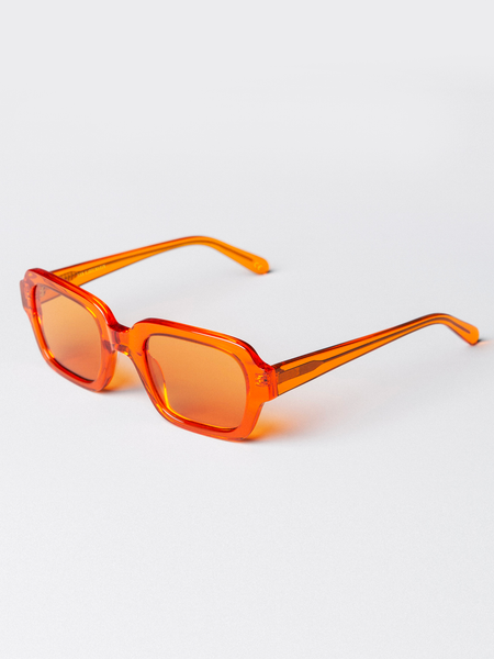 Code Trans Orange Sunglasses by Han Kjobenhavn