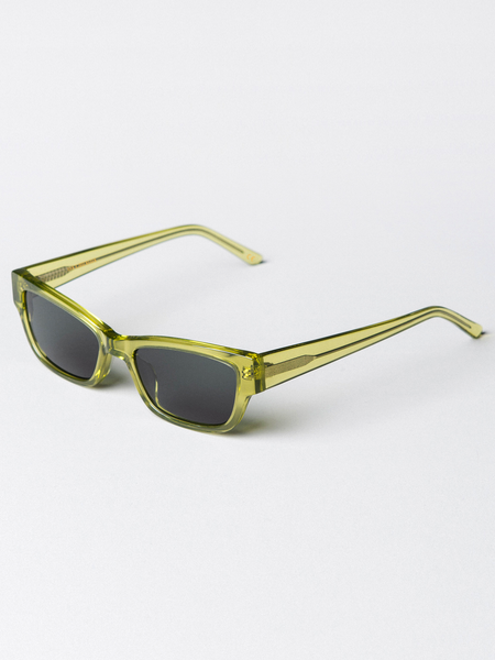 Moon Trans Green Sunglasses by Han Kjøbenhavn