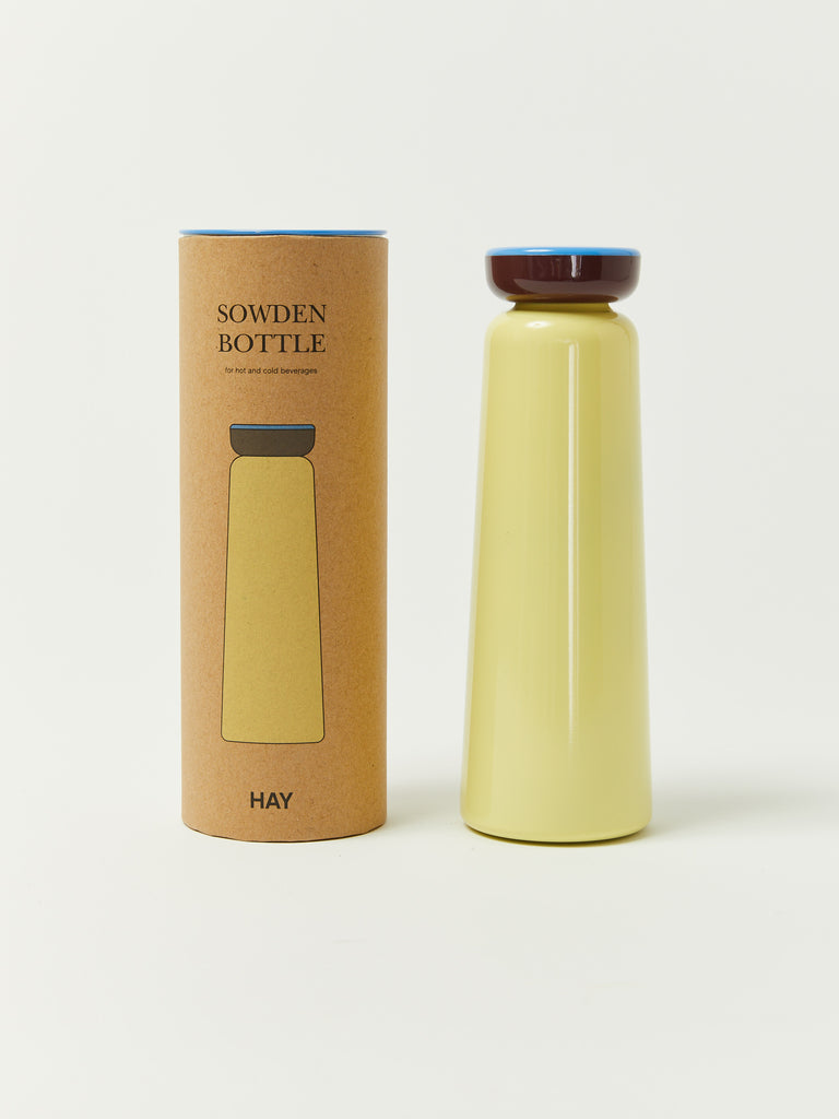 Sowden Bottle - Light Yellow by Hay