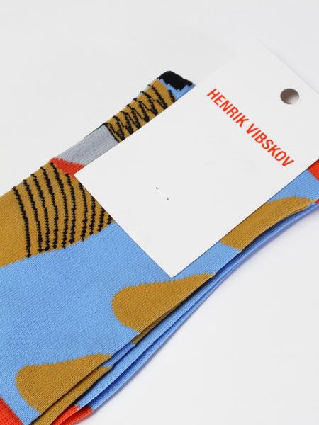 Half Fish Socks - Blue by Henrik Vibskov