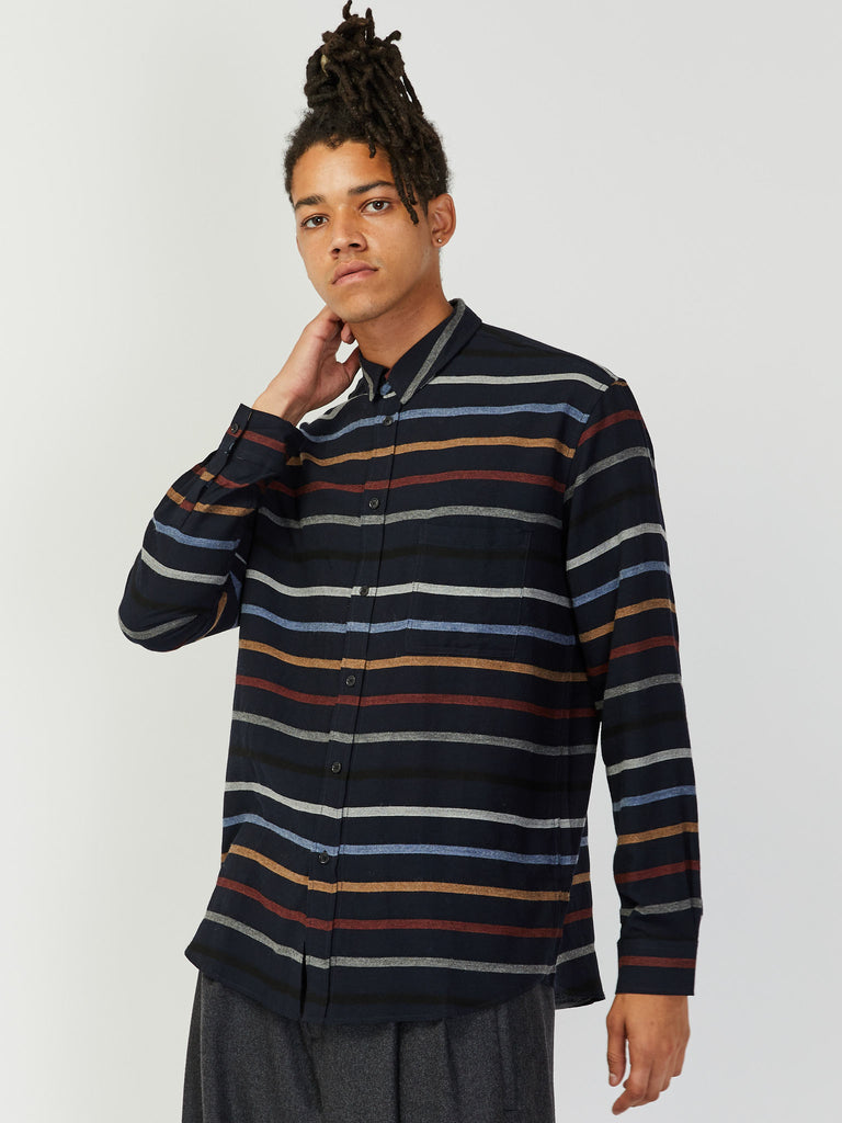 Inner Stripe Shirt by Henrik Vibskov
