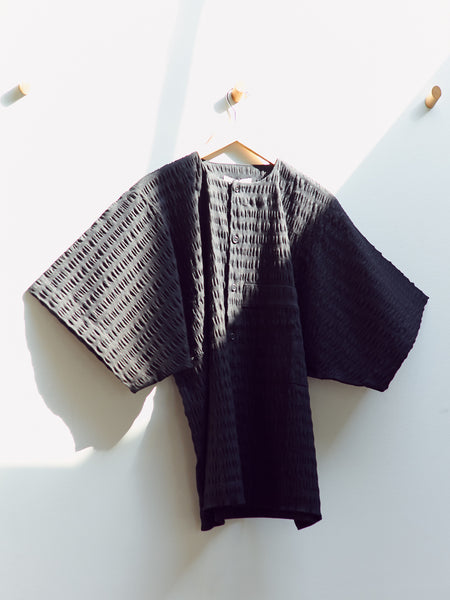 Kaii Shirt - Black by Henrik Vibskov