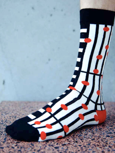 Note Band Socks by Henrik Vibskov
