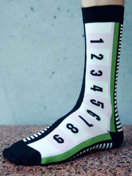 1-9 Socks - Green Line by Henrik Vibskov