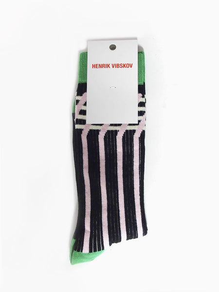 Romb Socks - Green by Henrik Vibskov