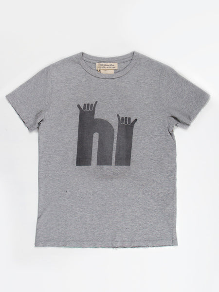 HI Tee Heather Grey by Remi Relief