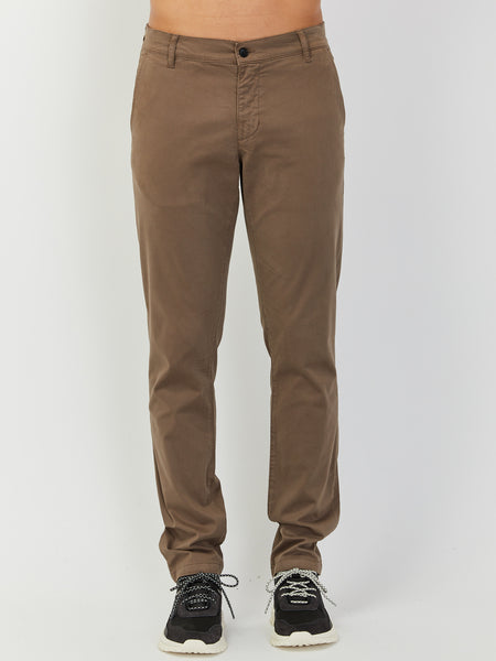 Nash Trouser - Khaki Brown by Hope