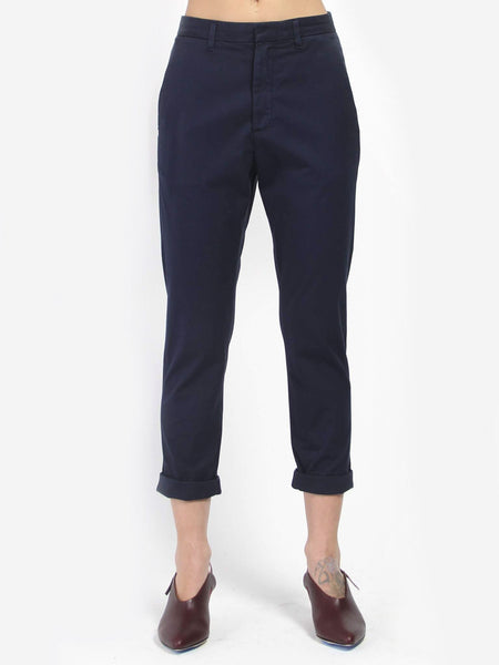News Trouser - Dark Blue by Hope