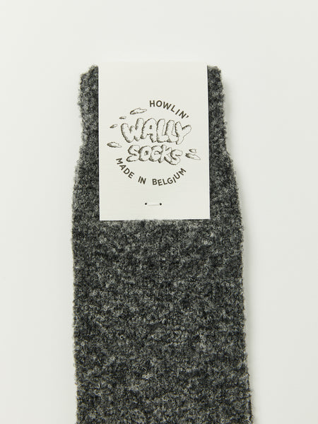 Wally Socks - Charcoal by Howlin