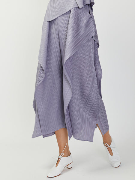 Draped Pleats Pant by Issey Miyake Pleats Please