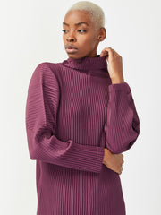 Mock Neck Long Sleeve - Amethyst