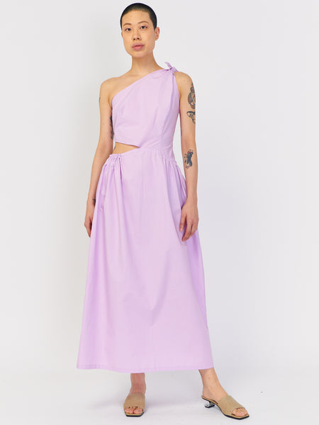 Asymmetrical Dress - Mauve by J. Kim