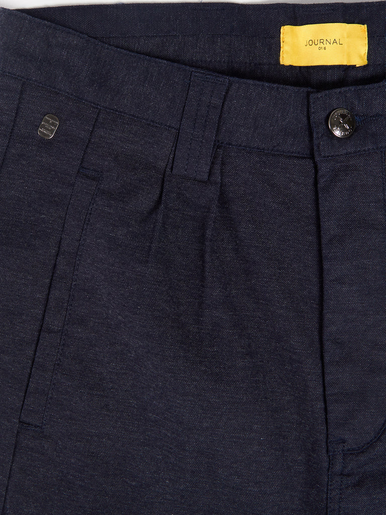 Taper Theo Oxford Shorts by Journal