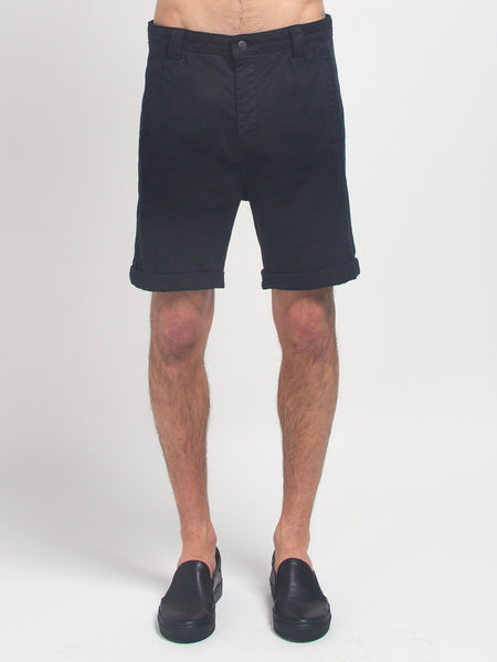 Taper Theo Shorts Black by Journal